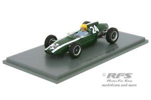 【送料無料】模型車 スポーツカー クーパーフランススパークcooper t60 climaxtony maggsformula 1 gp france 1962 143 spark 4803