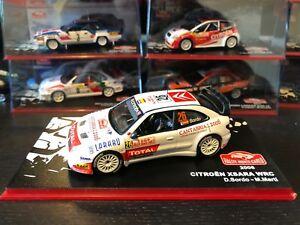【送料無料】模型車 スポーツカー シトロエンxsara wrcラリーモンテカルロ2006 dani sordocitroen xsara wrc rally monte carlo 2006 dani sordo