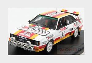 【送料無料】模型車 スポーツカー アウディquattro11ラリーニュージーランド1985mスチュアートtrofeu 143 trsca85nz11audi quattro 11 rally zealand 1985 m stewart trofeu 143 trsca 85