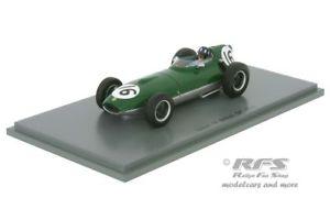 【送料無料】模型車 スポーツカー ロータスヒルフォーミュライギリススパークlotus 16 climaxgraham hill formula 1 british gp 1958 143 spark 5340