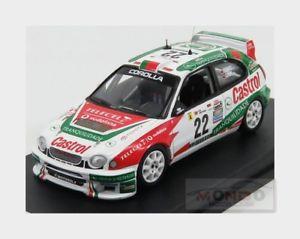 【送料無料】模型車 スポーツカー トヨタカローラ#ラリーデポルトガルシャベスパイヴァtoyota corolla wrc 22 rally de portugal 2001 chaves paiva trofeu 143 trral 71 m