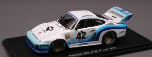 【送料無料】模型車 スポーツカー ポルシェ#ルマンスパークモデルporsche 935 42 7th le mans 1979 d chimney e doeren spark 143 s2020 model