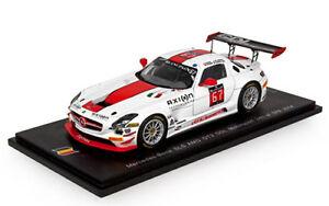 【送料無料】模型車 スポーツカー メルセデスグアテマラチームレーシング#スパデロレンツィスパークmercedes sls amg gt3 team gdl racing 67 spa 2014 g de lorenzi spark 143 sb083