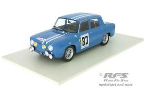 【送料無料】模型車 スポーツカー ルノーツールドコルスピオットネットワークrenault 8 gordini rallye tour de corse 1966 piot 118 altaya ixo