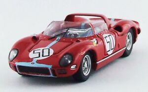 【送料無料】模型車 スポーツカー フェラーリモンツァ#アートモデルアートferrari 330 p monza 1964 l scarfiotti 50 rr winner art model 143 art337 mod