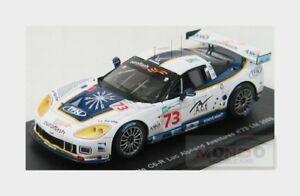 【送料無料】模型車 スポーツカー シボレーコルベットリュックアルファン#ルマンスパークchevrolet corvette c6r luc alphand aventures 73 le mans 2008 spark 143 s1489