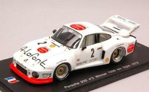 【送料無料】模型車 スポーツカー ポルシェキロペスカローロスパークモデルporsche 935 winner 1000 km dijon 1978 vollekpescarolo 143 spark sf032 model