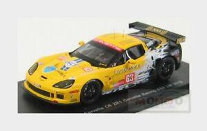 【送料無料】模型車 スポーツカー シボレーc6 zr1コルベットモダン63ルマン2010 magnussenスパーク143 s2579chevrolet c6 zr1 corvette racing 63 le mans 2010 magnussen spark 143 s25