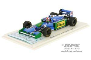 【送料無料】模型車 スポーツカー ベネトンフォードジョニーハーバートフォーミュラオーストラリアスパークbenetton ford b194 johnny herbert formula 1 australia 1994 143 spark 4484