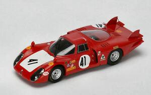 【送料無料】模型車 スポーツカー アルファロメオスパークalfa romeo 332 n41 retired lm 1968 g baghettin vaccarella 143 spark s4370 mo