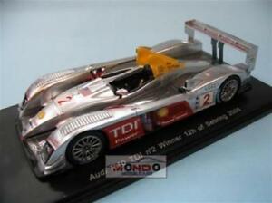 【送料無料】模型車 スポーツカー アウディセブリングスパークモデルaudi r10 tdi winner 12 ore sebring 2006 spark sp0678 143 model