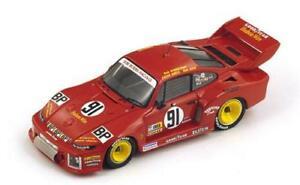 【送料無料】模型車 スポーツカー ポルシェスパークモデルporsche 935 n91 accident lm 1978 garretsonearleakin 143 spark s4163 model