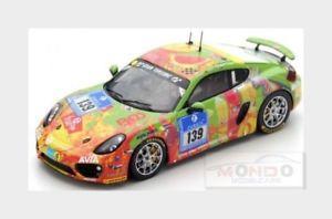 【送料無料】模型車 スポーツカー ポルシェケイマンレース#ニュルブルクリンクスパークシングルporsche cayman s securtal sorg racing 139 nurburgring 2016 spark 143 sg260