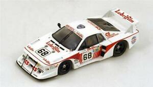 【送料無料】模型車 スポーツカー ランチアベータモンテカルロターボルマンスパークメートルlancia beta montecarlo turbo n68 le mans 1981 finottopianta 143 spark s1895 m
