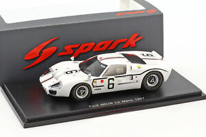 【送料無料】模型車 スポーツカー フォード#ルマンシュレッサーバギーリジェford gt40 mk iib 6 24h lemans 1967 schlesser, ligier 143 spark