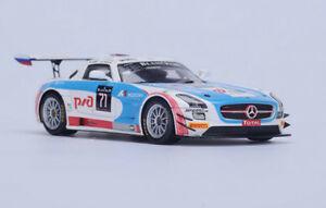 【送料無料】模型車 スポーツカー メルセデスグアテマラチームロシア#スパスパークモデルmercedes sls amg gt3 team gt russian 71 spa 2015 spark 143 sb117 model