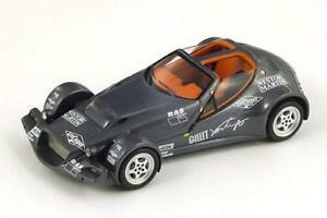 【送料無料】模型車 スポーツカー gilletクモ2002ダークグレーmet spark143 s1461モデルgillet vertigo spider record car 2002 dark grey met spark 143 s1461 model