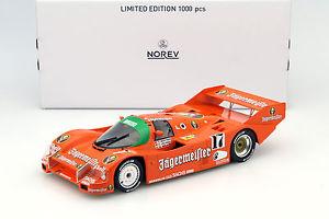 【送料無料】模型車 スポーツカー ポルシェイェーガーマイスター#キロスパporsche 962 c jgermeister 17 winner 1000km spa 1986 boutsen, jelinski 118 nor
