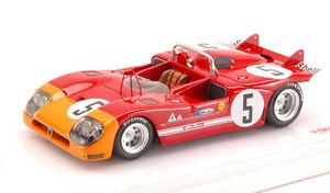 【送料無料】模型車 スポーツカー アルファロメオ#タルガフローリオモデルalfa romeo 333 5 winner targa florio 1971 vaccarella hezemans 143 model