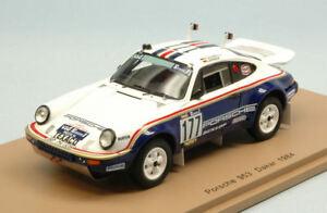 【送料無料】模型車 スポーツカー ポルシェ#ダカールモデルスパークモデルporsche 953 177 26th dakar 1984 kussmaullerner 143 model s4882 spark model