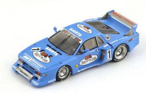 【送料無料】模型車 スポーツカー ランチアベータハイヤースパークモデルlancia beta n1 2nd zolder drm 1981 h heyer 143 spark sg026 model