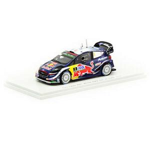 【送料無料】模型車 スポーツカー スパークフォードフィエスタツールドコルスオジェspark 143 ford fiesta wrc 12018 tour de corse sogierjingrass s5970