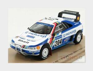 【送料無料】模型車 スポーツカー プジョーグランド#ラリーダカールスパークpeugeot 405 t16 grand raid 204 winner rally parigi dakar 1988 spark 143 s5616