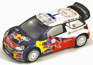 【送料無料】模型車 スポーツカー シトロエンds3セバスチアンローブメキシコ2011 モデルカーs3303citroen ds3 sebastien loeb winner mexican rally 2011 resin model car s3303