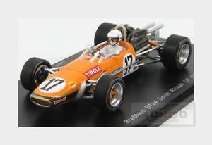 【送料無料】模型車 スポーツカー ブラバム#アフリカグランプリオレンジモデルbrabham f1 bt24 17 south africa gp 1969 stingle orange spark 143 s5255 model
