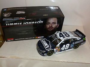 【送料無料】模型車 スポーツカー #ジミージョンソンロウシボレーアクションsigned 124 48 jimmie johnson foundation lowes 2014 chevy ss action 1637