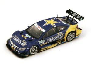 【送料無料】模型車 スポーツカー メルセデスクーペ#ゲイリーパフェットスパークシングルモデルmercedes amg ccoupe dtm 3 2013 gary paffett 500ex spark 143 sg122 model