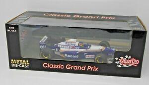 【送料無料】模型車 スポーツカー ウィリアムズルノージャックヴィルヌーヴグランプリヨーロッパquartzo 118 williams renault fw18 jacques villeneuve 1996 winner gp europe