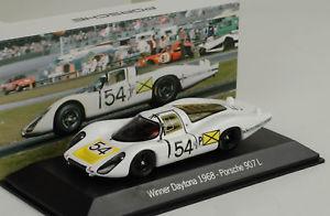 【送料無料】模型車 スポーツカー ポルシェ#デイトナマップスパーク1968 porsche 907 lh 22 54 winner 24h daytona 1968 143 map museum spark