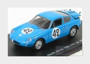 【送料無料】模型車 スポーツカー アバルト#ルマンスパークモデルabarth simca 1300 42 le mans 1962 bluette spark 143 s1306 model