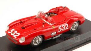 【送料無料】模型車 スポーツカー フェラーリ#ミッレミリアアートモデルアートモデルferrari 315s 532 mille miglia 1957 w von trips red art model 143 art194 model