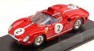 【送料無料】模型車 スポーツカー フェラーリ#キロパリアートモデルアートferrari 330 p 2 winner 1000 km paris 1964 hillbonnier 143 art model art180 mo