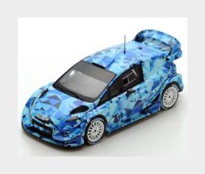 【送料無料】模型車 スポーツカー フォードフィエスタwrcmontecarlo2017spark 143 s5157モデルford england fiesta wrc test car rally montecarlo 2017 spark 143 s5157 model