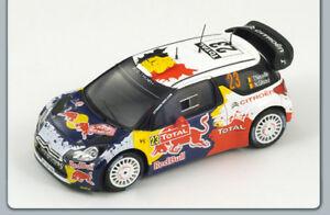 【送料無料】模型車 スポーツカー シトロエン#スパークモデルcitroen ds3 23 montecarlo 2012 neuvillegilsoul 143 spark s3328 model