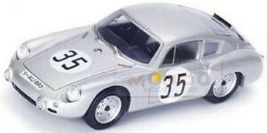 【送料無料】模型車 スポーツカー ポルシェアバルト#ルマンシラーシルバースパークporsche 356b abarth 35 24h le mans rbuchet hschiller silver spark 143 s1877