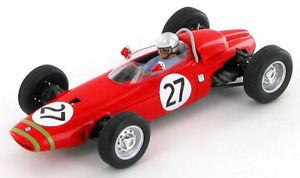 【送料無料】模型車 スポーツカー ルシアンビアンキベルギーbrm p57 lucien bianchi belgium gp 1965 143 s1737