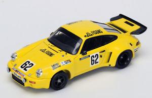 【送料無料】模型車 スポーツカー ポルシェカレラ#ルマンボンドスパークporsche 911 carrera rsr 62 24h le mans 1974 bond de fierlant spark 143 s3492 m