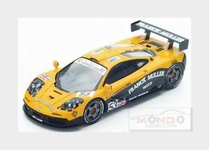 【送料無料】模型車 スポーツカー #ルマンサラスパークmc laren f1 gtr 53 24h le mans 1996 jddeletraz mssala spark 143 s4732 mod