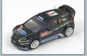 【送料無料】模型車 スポーツカー フォードフィエスタrs wrc5 8thラリーmontecarlo 2012tanak spark 143 s3341 mford england fiesta rs wrc 5 8th rally montecarlo 2012 tanak