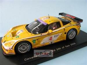 【送料無料】模型車 スポーツカー コルベットチームグアテマラスパークcorvette c6r team glpk fia gt 143 spark sp0176