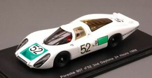 【送料無料】模型車 スポーツカー ポルシェ#デイトナスパークモデルporsche 908 52 2nd daytona 1968 siffertherrmannmitter 143 spark s2985 model
