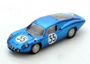 【送料無料】模型車 スポーツカー スパークアルパインルマンspark alpine a110 no 55 le mans 1965 cheinisse hanrioud 143 s5489