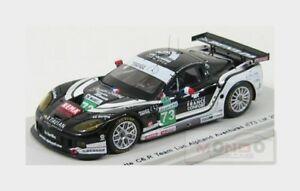 【送料無料】模型車 スポーツカー シボレーコルベットリュックアルファン#ルマンスパークchevrolet corvette c6r luc alphand aventures 73 le mans 2010 spark 143 s2578 m