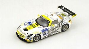 【送料無料】模型車 スポーツカー メルセデスグアテマラチームモータースポーツニュルブルクリンクスパークシングルmercedes sls amg gt3 team htp motorsport gmbh nurburgring 2014 spark 143 sg134