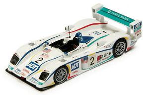 【送料無料】模型車 スポーツカー アウディルマンビーラピロマクニッシュホワイトスパークモデルaudi r8 2 3rd 24h le mans 2005 biela pirro mcnish white spark 143 s0671 model