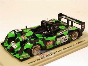 【送料無料】模型車 スポーツカー nasamax judd lm 2004 143スパークsp0054モデルnasamax judd lm 2004 143 spark sp0054 model